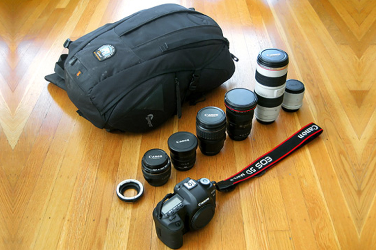 Photographic gear of Mike Matas