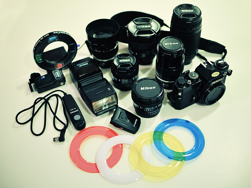 Photographic gear of Jon Siegal