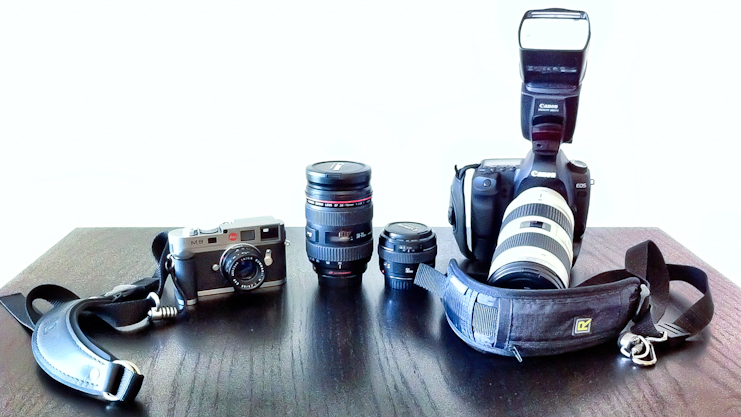 Photographic gear of Justin Blanton