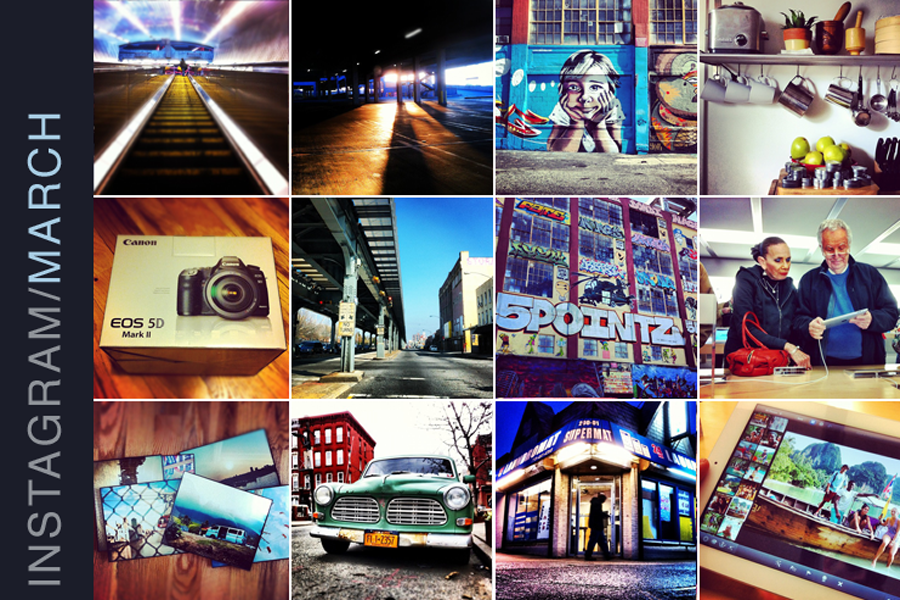 Instagram favorites for March 2012