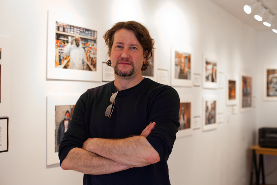 Portrait of Chris Arnade