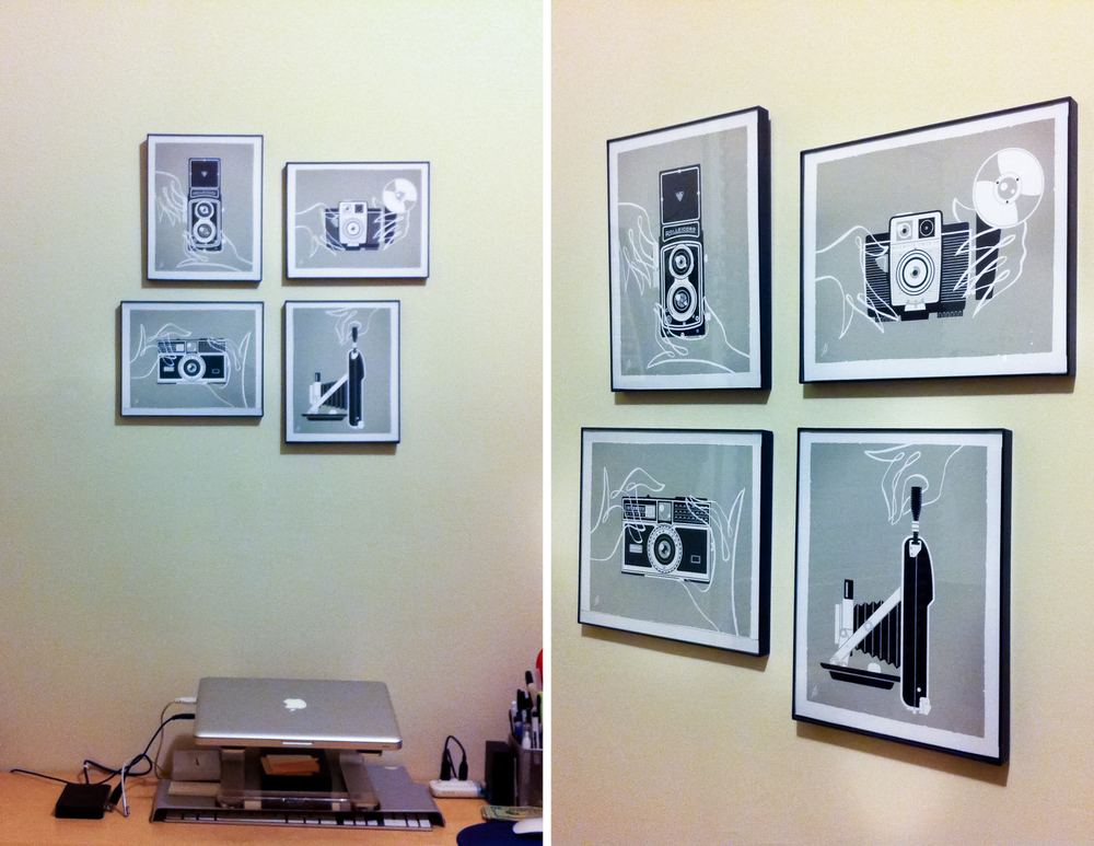 Camera prints for the home office