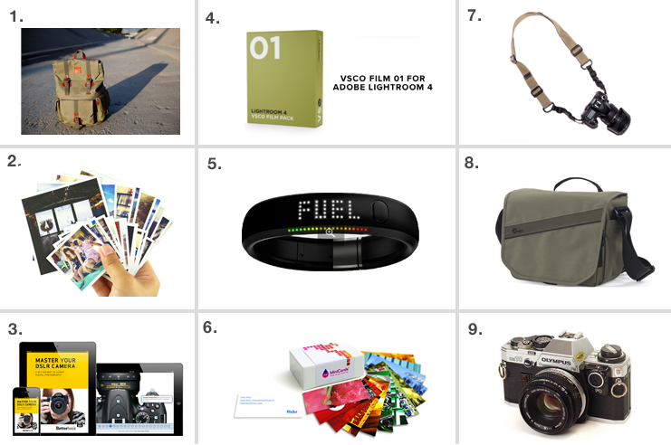 Photographer Holiday Gift Guide 2012 by Jorge Quinteros
