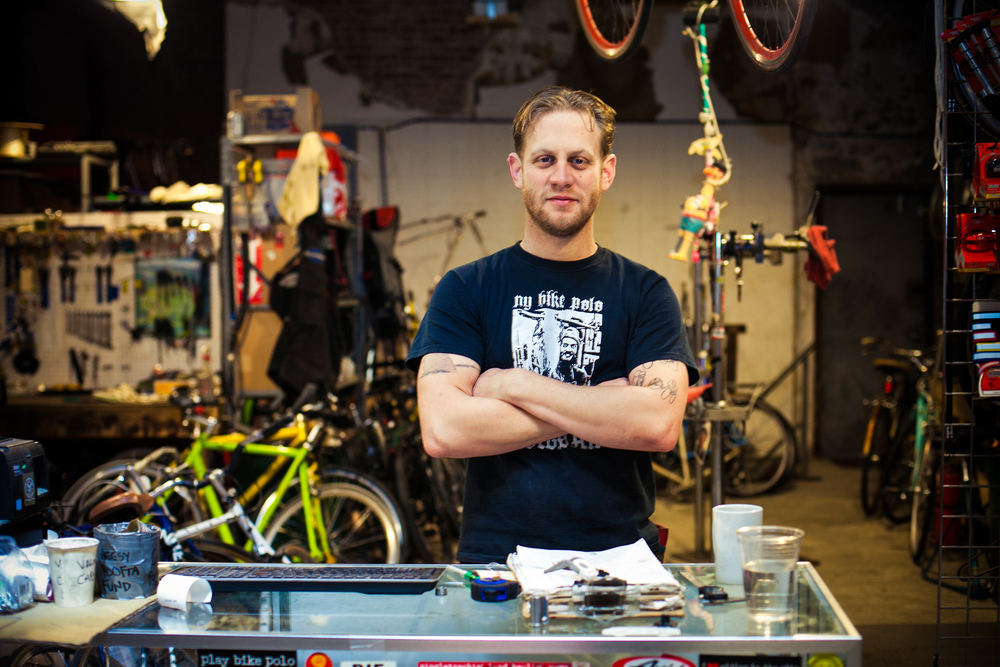 Portrait of Brian from Red Lantern Bicycle