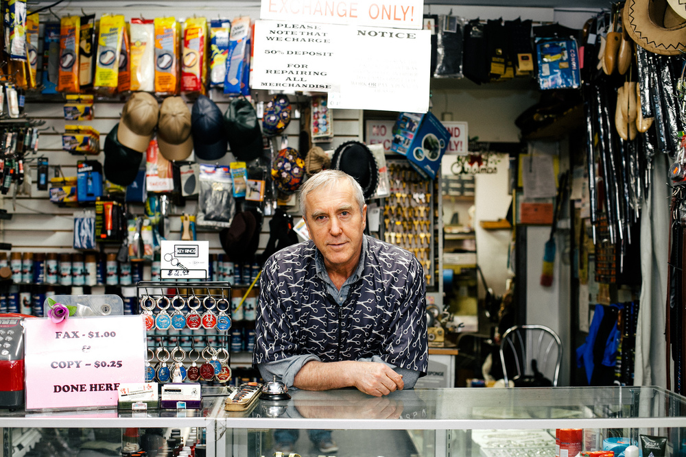 Portrait of Boris in Jamaica, Queens.
