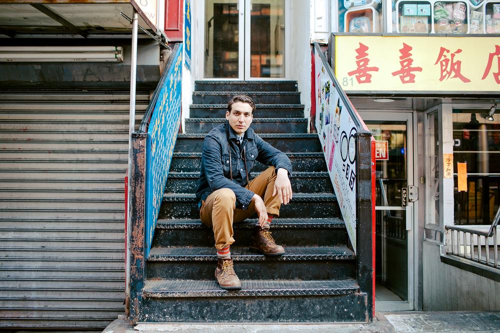 Joshua Allen Harris, Chinatown, New York