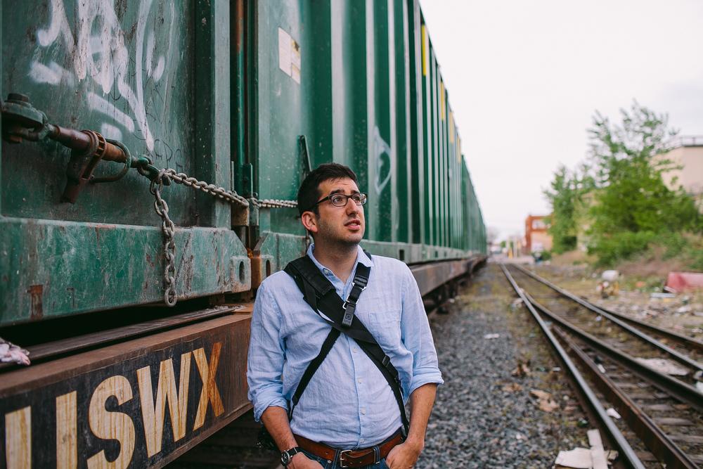 Portrait of Joel Zimmer