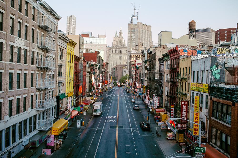Unoccupied Chinatown