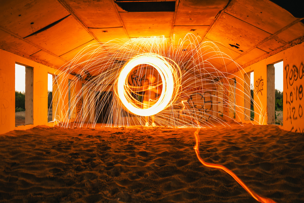 Experimenting with Steel Wool