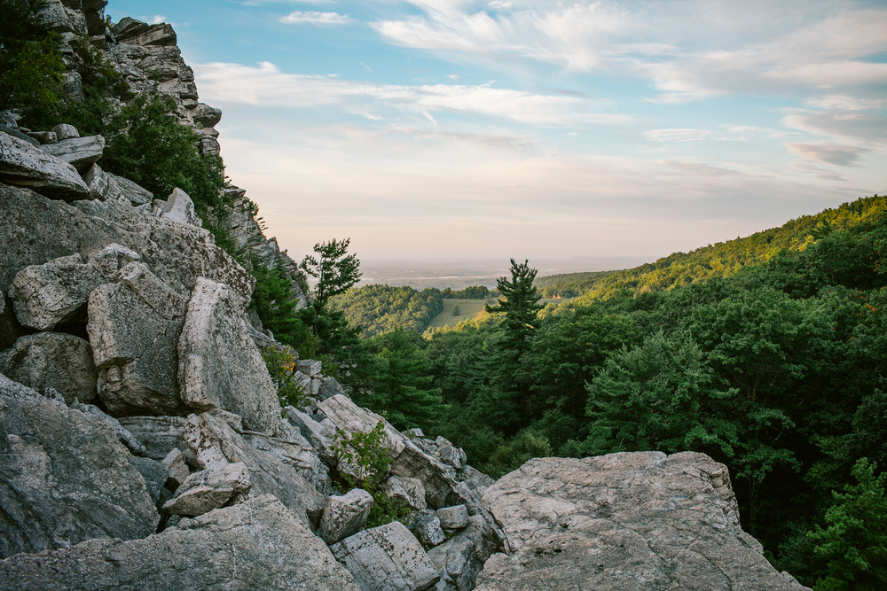 Trekking Up To Bonticou Crag