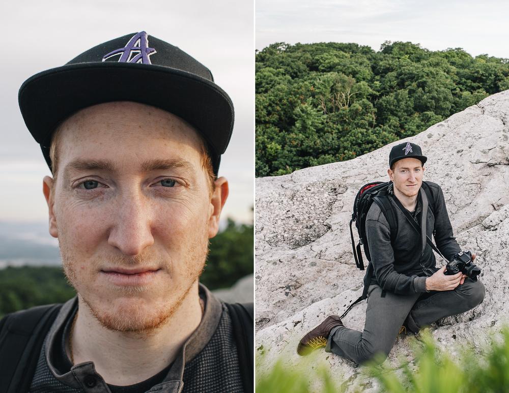 Rob Broadbent at Bonticou Crag