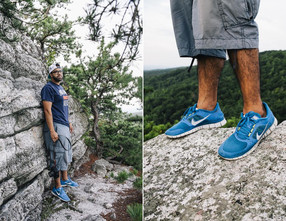 Jose Tutiven at Bonticou Crag