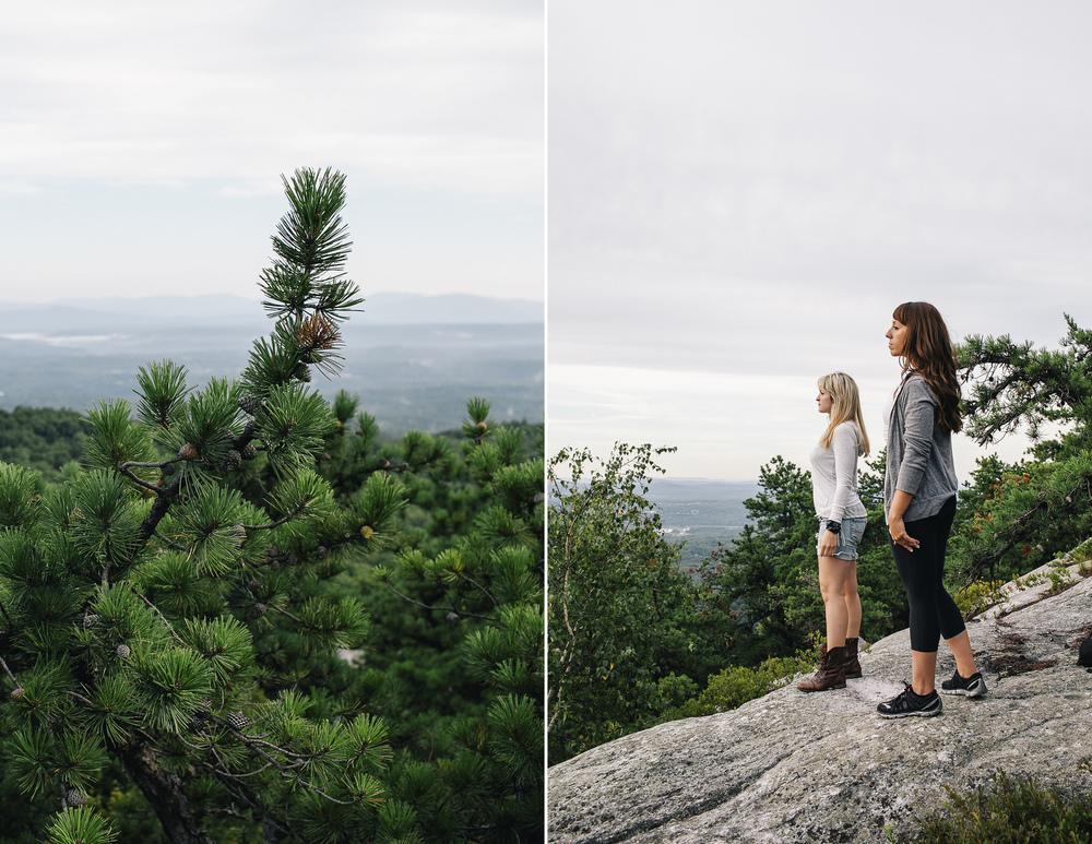 Carolyn and Tina at Bonticou Crag