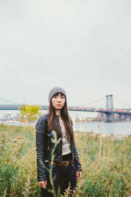 Portrait of Stephanie Crown In Williamsburg