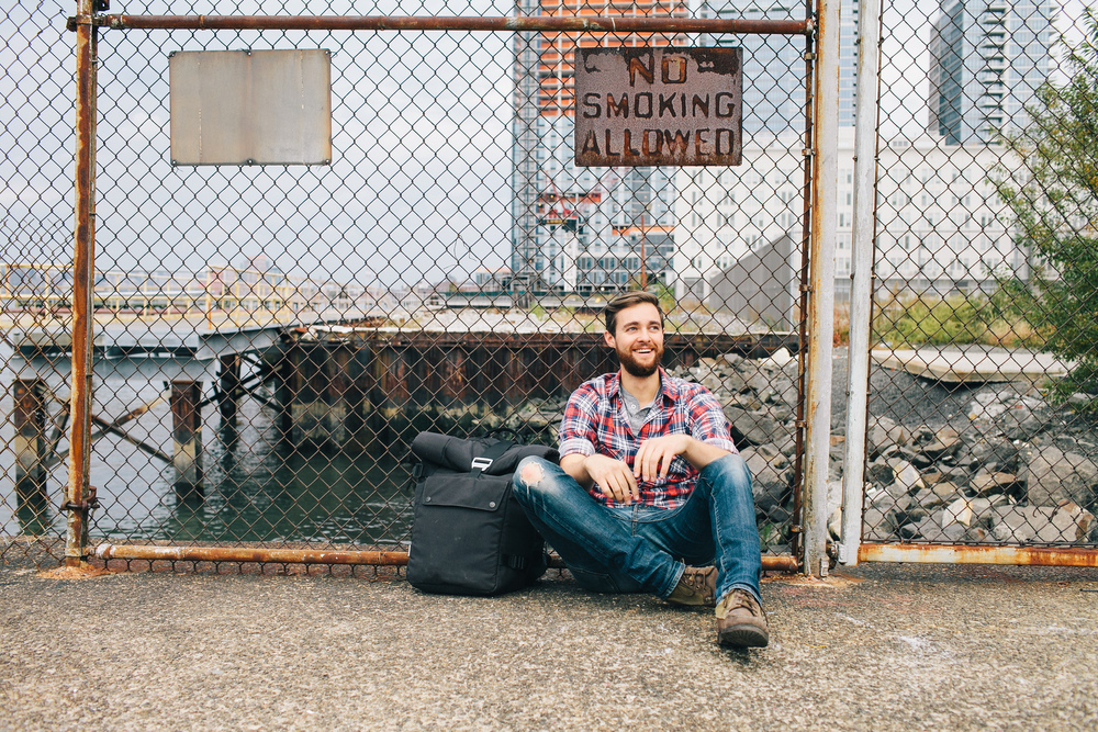 Portrait of Patrick Kolts in Williamsburg, BK
