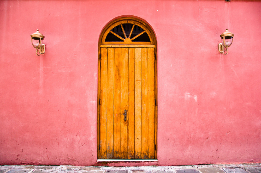 Portrait of a Door, St.Thomas