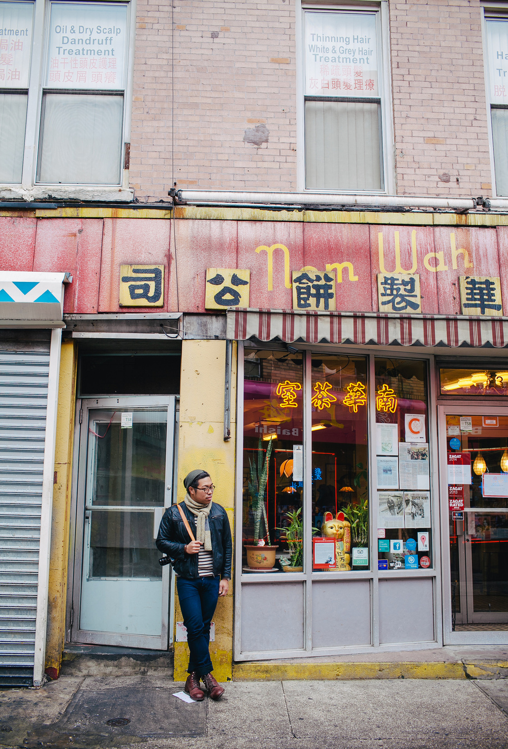 Peter Choi in Chinatown