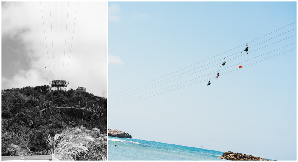 Dragon's Breath Flight Line: Swoop down along the longest zip line in the world over water.