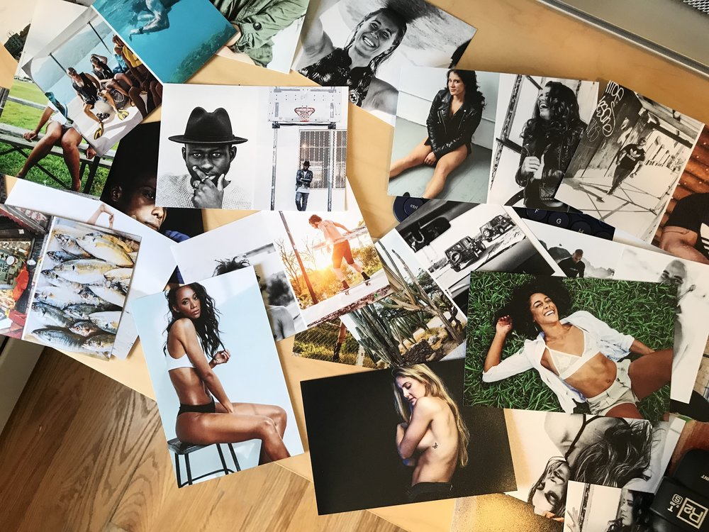 Overview of my photography work. Used Shutterfly to print.
