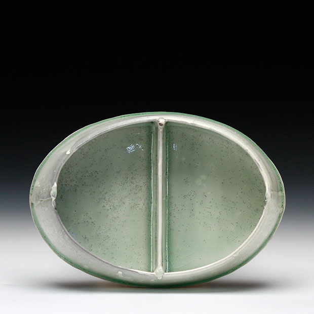 oval divided dish