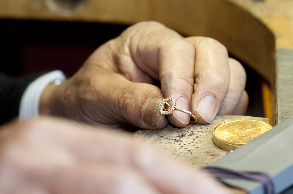 Fabricating a custom Engagement Ring