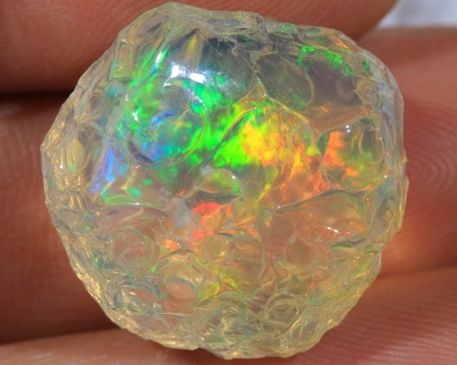 Rough Welo Opal mined in Ethiopia