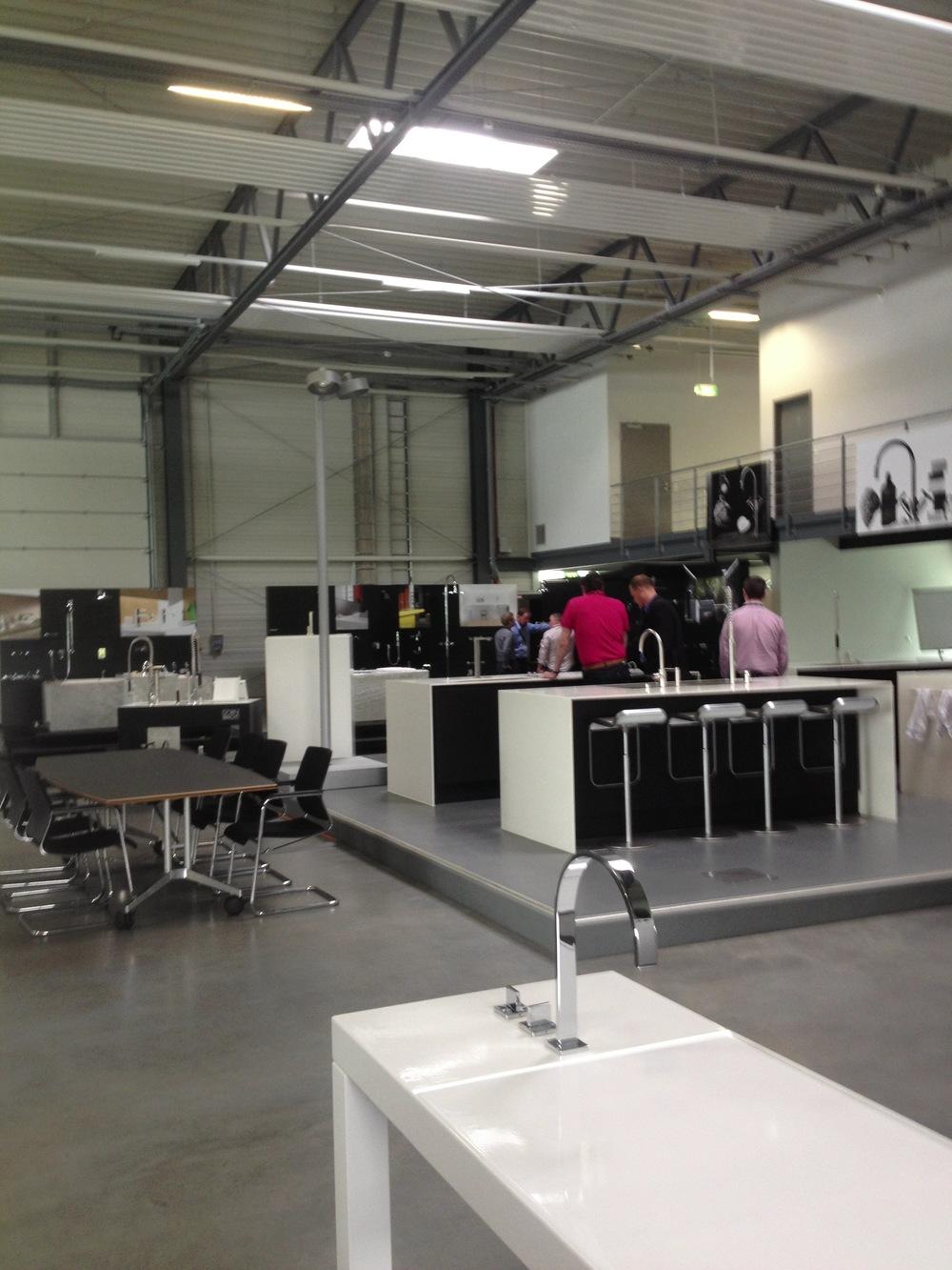 very nice showroom!