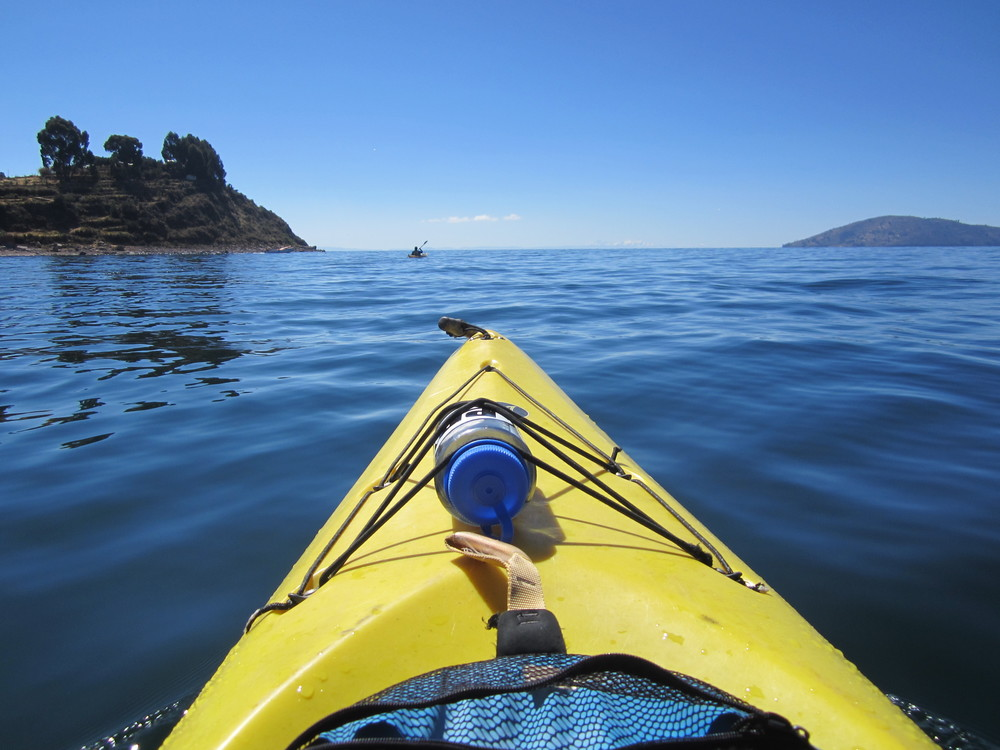 Outward bound! Kayaking on the vanishing Lake Titicaca