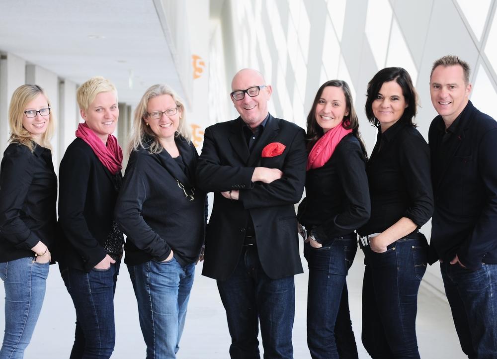 Stella Dielhenn, Stefanie Bischof, Sandra Laermann, Rhett Lego, Cornelia Eisenreich, Christiane EmpterZanotto, Craig Smith