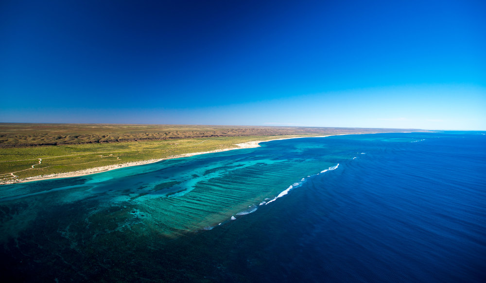 Aerial view of Ningaloo Reef and Cape Range National Park ©Tourism Western Australia.jpg