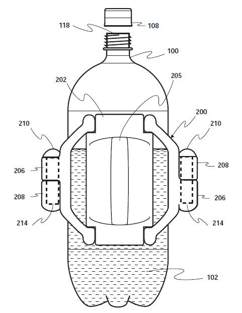 USPTO Patent Awarded to Atiyeh, Hagler for FizzLoc Soda