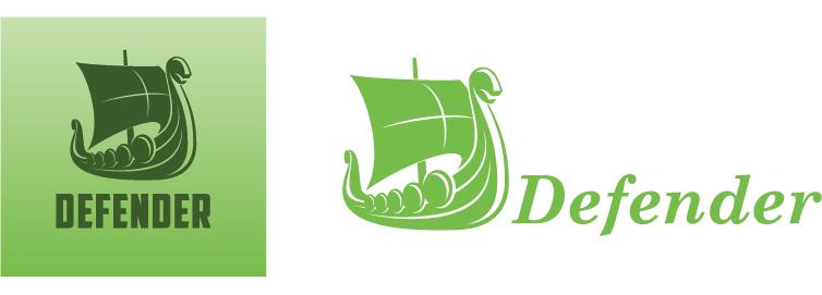 Nordic sailing vessel logo