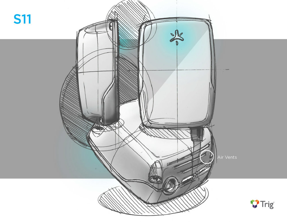 Industrial Design Concept Sketch S11