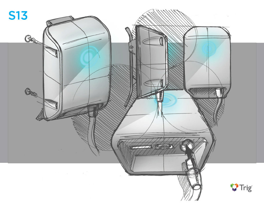 Industrial Design Concept Sketch