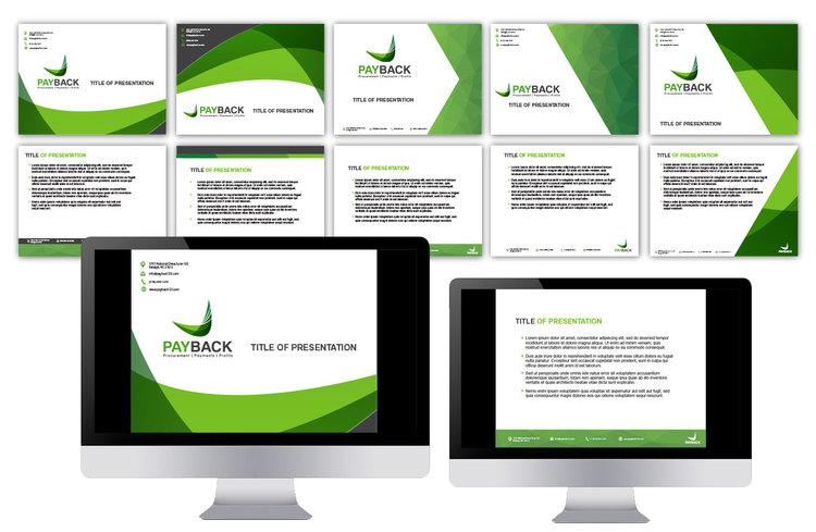 Payback Web and Print Branding