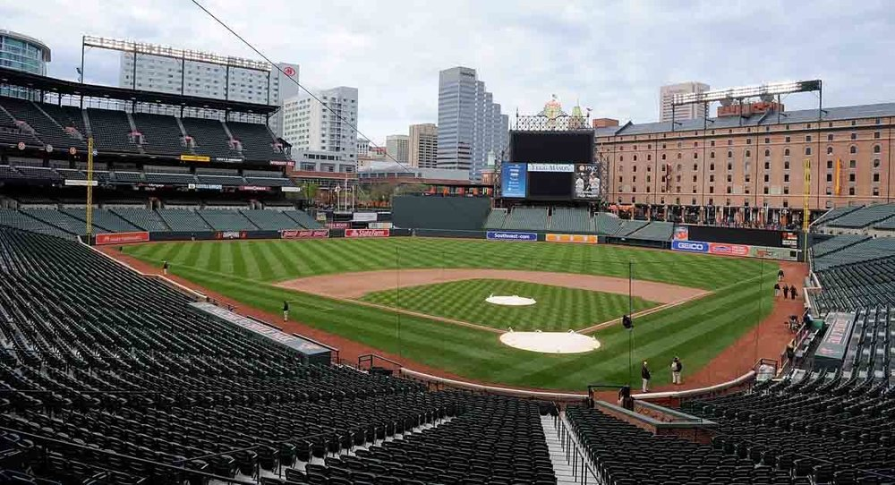 Baseball Stadium Seats Empty
