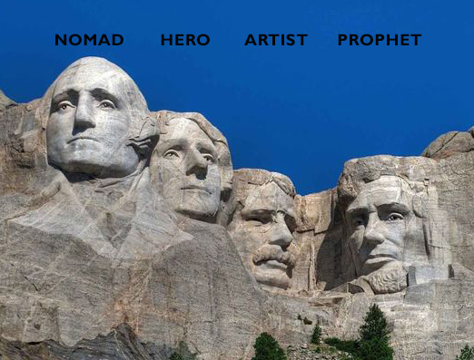 Mount Rushmore Fourth Turning Nomad Hero Artist Prophet