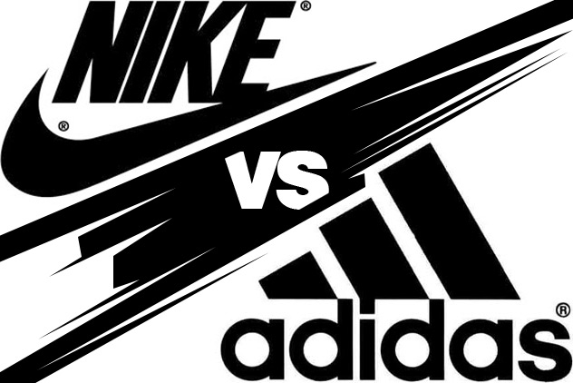 Nike Vs Adidas Graphic Marketing