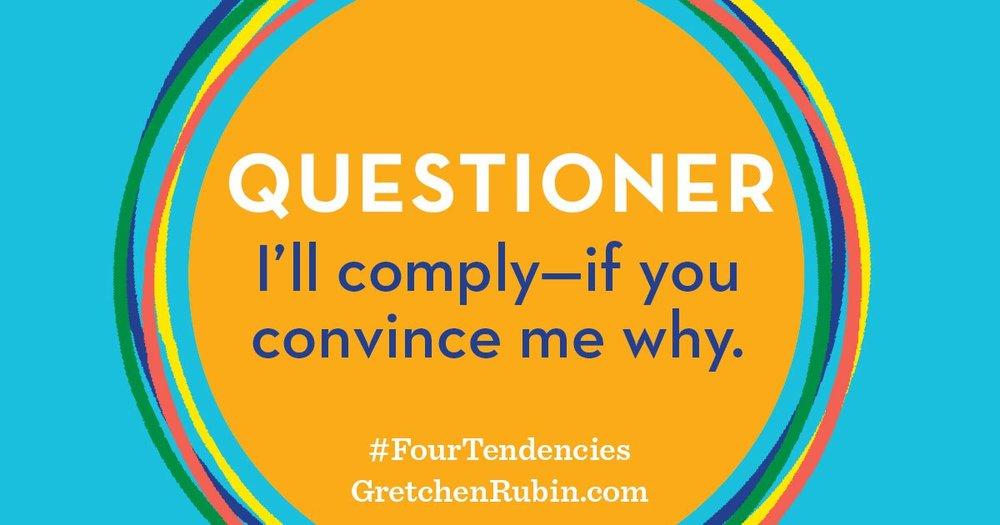 Questioner - Four Tendencies