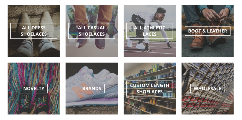 Shoelaces Express New Visual Navigation
