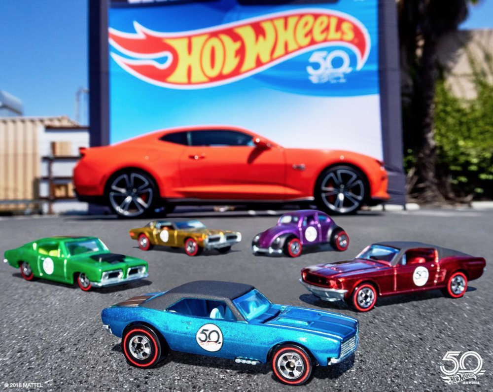 50th Anniversary - Instagram @hotwheelsofficial