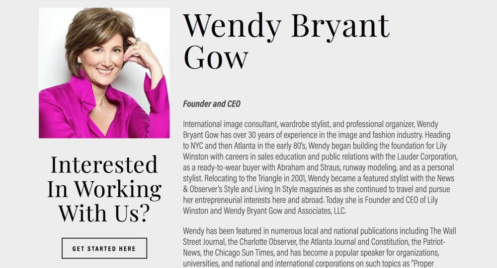 Wendy Gow Lily Winston Website Update Employee Profile - Trig Industrial Design - Explore Prototype Build