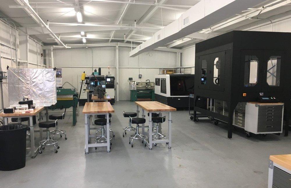 Hangar6 Prototyping Equipment - Trig Industrial Design - Explore Prototype Build