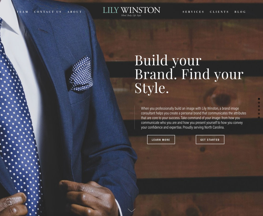Lily Winston New Homepage