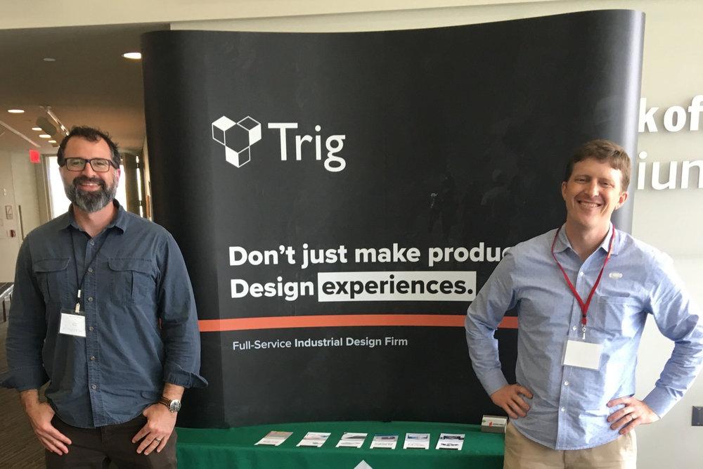 Ty Hagler and Andrew DiMeo at Innovate Carolina 2019
