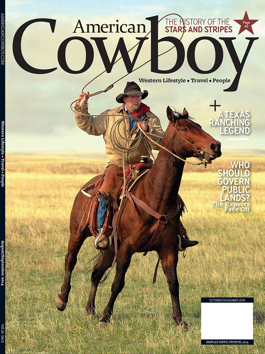 American Cowboy Cover Proof