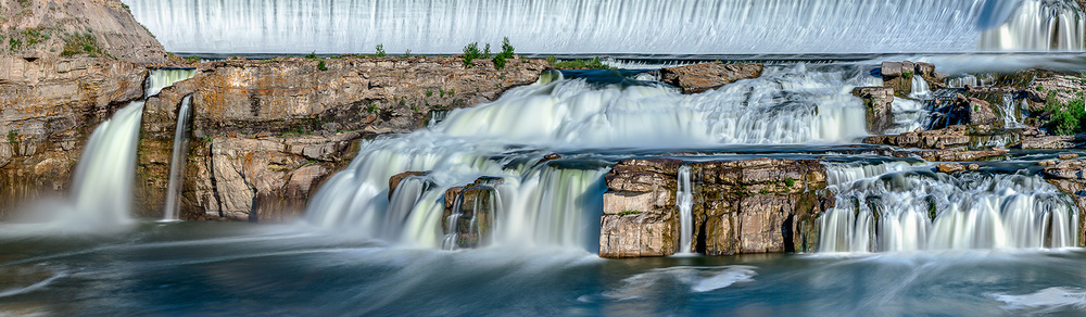 A time lapse panorama photograph of Ryan Dam located on the Missouri River near Great Falls, Montana.   → Buy a Print