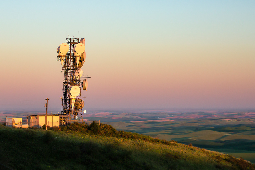 Microwave Tower Top