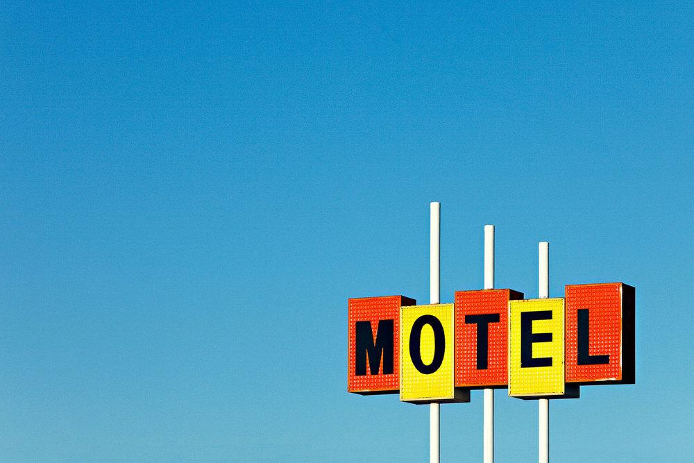 Little Motel Sign