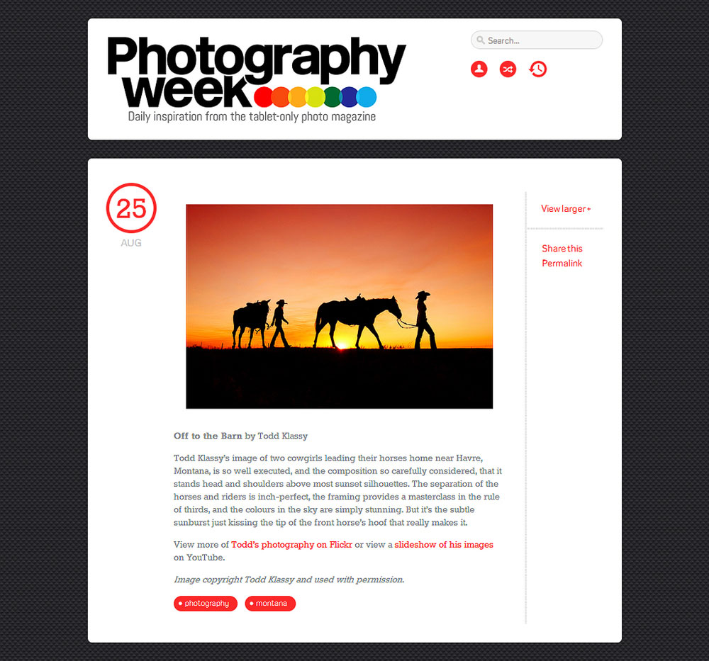 Photography Week Magazine